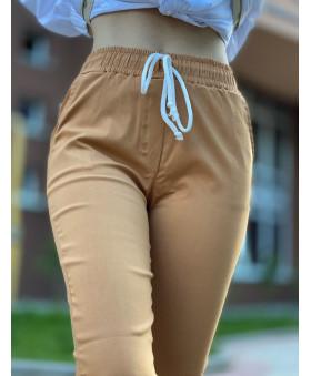 Бенгалінові брюки коричневого кольору