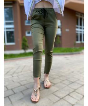 Бенгалінові брюки кольору хакі